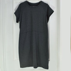 The North Face Terry Dress Dark Grey XL Pocket New